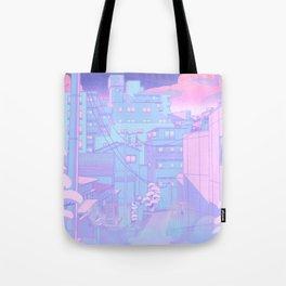 Moonlight City Tote Bag