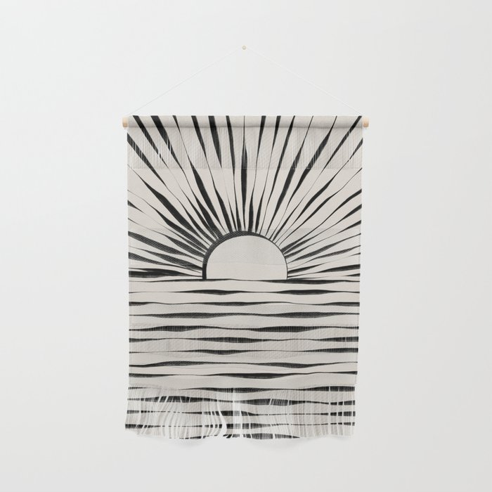 Minimal Sunrise / Sunset Wall Hanging