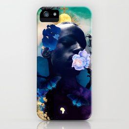 Indigo Skies iPhone Case