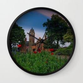 Walsall Arboretum Clock Tower Wall Clock