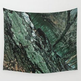 Forest Textures Wall Tapestry