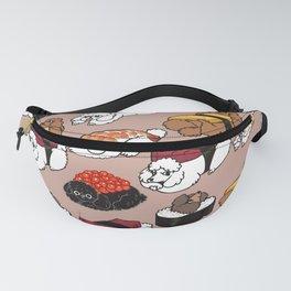Sushi Poodle Fanny Pack
