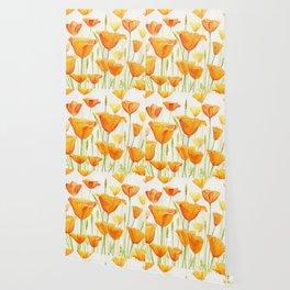 Blossom Poppies Wallpaper
