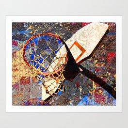 Basketball vs 65 Art Print