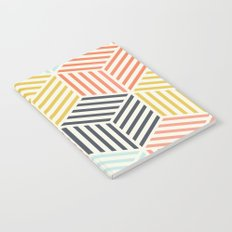 Colorful Geometric Notebook