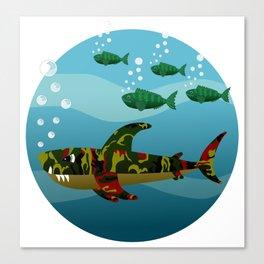 Le Requin Canvas Print