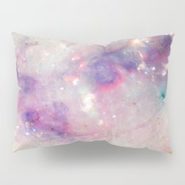 The colors of the galaxy Pillow Sham