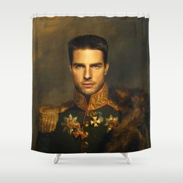 Tom Cruise - replaceface Shower Curtain