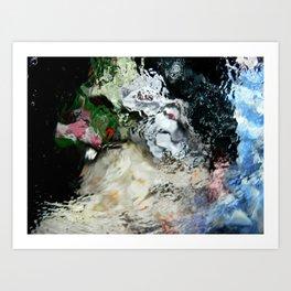 Color washing Art Print