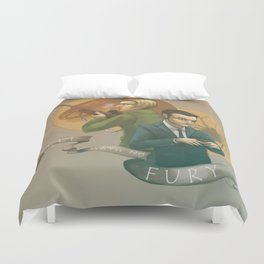 Hell Hath No Fury Duvet Cover