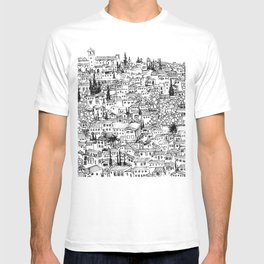 Albaicin View from the Alhambra, Granada, Spain T-shirt
