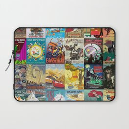 Amusement Rides Laptop Sleeve