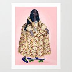 Solange Art Print
