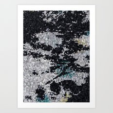 GeoTexture Art Print