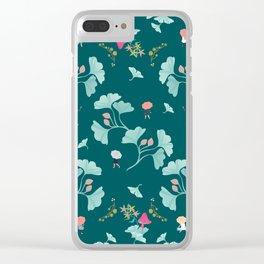 Ginkgo Midori Clear iPhone Case