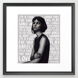 Songs XIX. Framed Art Print