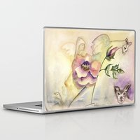 fairy Laptop & iPad Skins featuring Fairy by CrismanArt