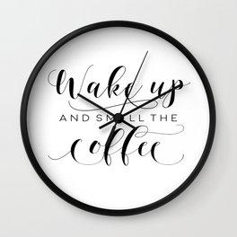 PRINTABLE Art,COFFEE BAR,Coffee Sign,Coffee Sign,Coffee Decor,But First Coffee,Kitchen Decor Wall Clock