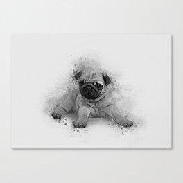 Pug Art Canvas Print