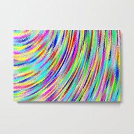 Sway of colors Metal Print