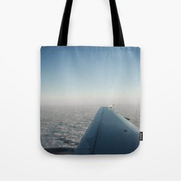 Wing in the clouds Tote Bag