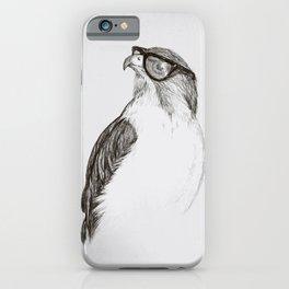 Hawk with Poor Eyesight iPhone Case