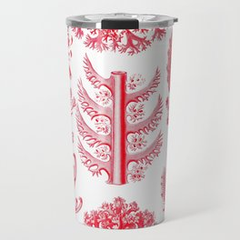 Ernst Haeckel Florideae Red Algae Travel Mug