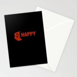 B-HAPPY #2 Stationery Cards