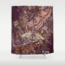 Transarctiinae Shower Curtain