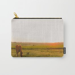 Summer Landscape with Horse Carry-All Pouch
