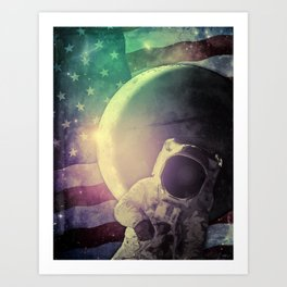 Adventure In Space Art Print