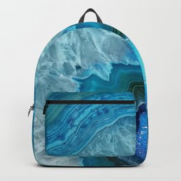 Turquoise Blue Agate Backpack