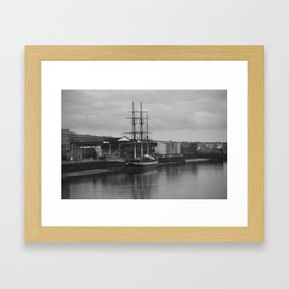 Famine Ship Dunbrody Framed Art Print