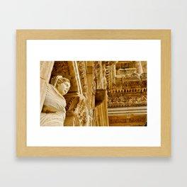 Ruins of Ephesus Framed Art Print