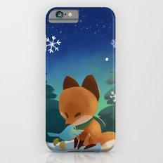 Fox & Boots - Winter Hug iPhone 6s Slim Case