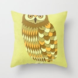 Mowly Throw Pillow