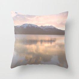 Copper Sunset - Lake Dillon, Colorado Throw Pillow