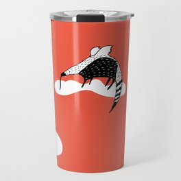 Flying Anteater by Amanda Jones Travel Mug