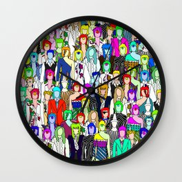 Punks One Wall Clock