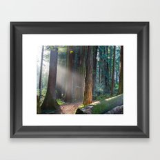 Keepers Of The Light Framed Art Print