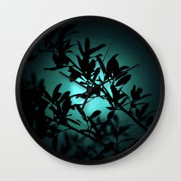 Dreaming of Teal You Wall Clock