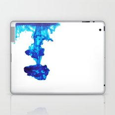 Ink Abstract - Blue Laptop & iPad Skin
