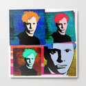 DYLAN THOMAS (FUNKY-COLOURED 4-UP COLLAGE) by hayesdesign