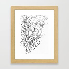 Untitled, Abstract Framed Art Print