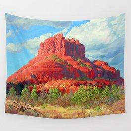 Big Bell Rock Sedona by Amanda Martinson Wall Tapestry