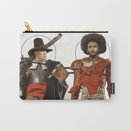 Thanksgiving In Modern America With Trump And Kapernick Carry-All Pouch