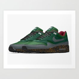 Collard-green Art Print