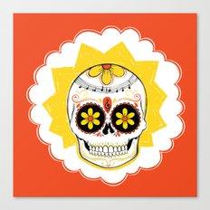 Lisa de los Muertos Canvas Print