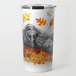 Scottie Dog Fall Fun Travel Mug