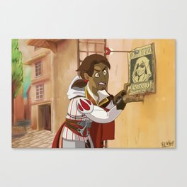 Ezio Rider Canvas Print